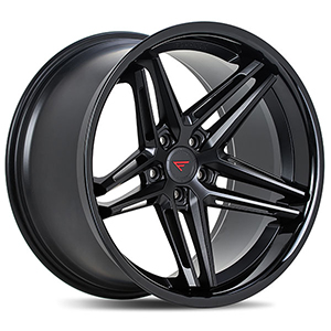 Ferrada CM1 Matte Black With Gloss Black Lip