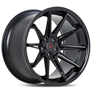 Ferrada CM2 Matte Black With Gloss Black Lip