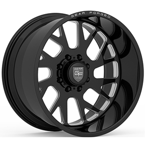 Gear Offroad Forged F-71 Black Right