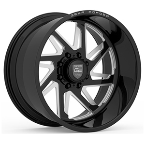 Gear Offroad Forged F-72 Black Right