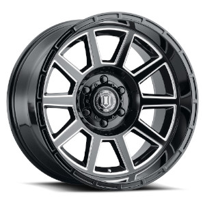 Icon Alloys Recoil Gloss Black Milled