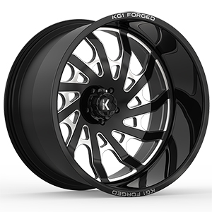 KG1 Forged Bounty KF006 Gloss Black Machined