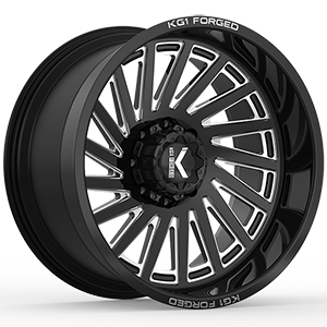 KG1 Forged Boost KC006 Gloss Black Machined