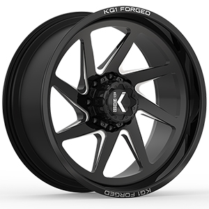 KG1 Forged Edge KC005 Gloss Black Machined