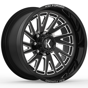 KG1 Forged Revile KC003 Gloss Black Machined