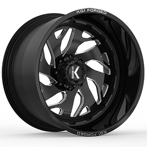 KG1 Forged Forte KF005 Gloss Black Machined