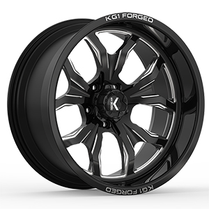 KG1 Forged Primacy KF001 Gloss Black Machined