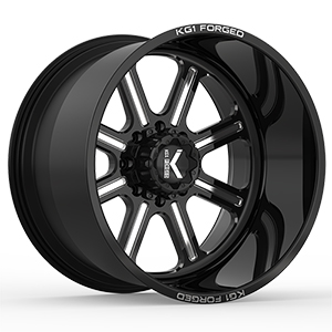 KG1 Forged Valor KF010 Gloss Black Machined