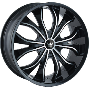 Mazzi Hustler 342 Black W/ Machined Face