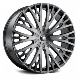 Mazzi Rolla 373 Black Machined