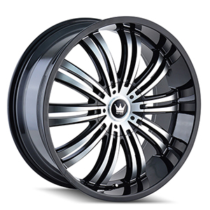 Mazzi Swank 363 Gloss Black W/ Machined Face