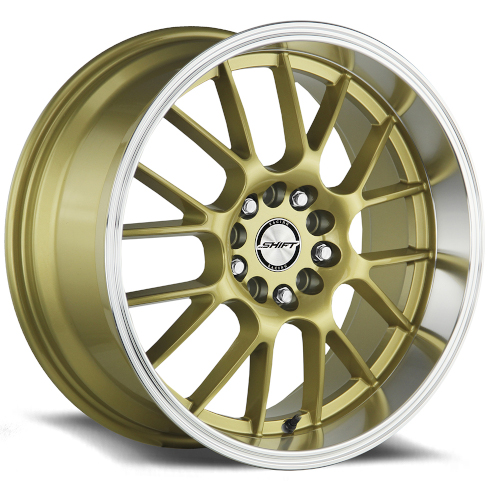 Shift Crank H28 Gold Polished Lip Photo